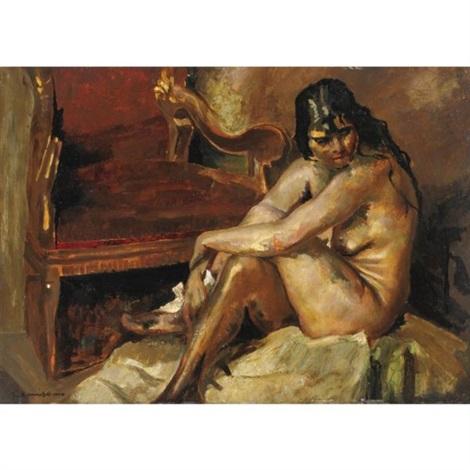 nudo femminile by giuseppe amisani