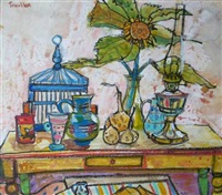 yellow table by glen scouller