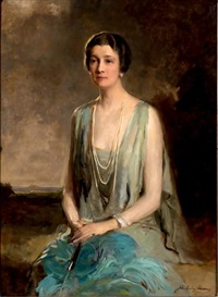 portrait de madame george w. steale by john quincy adams