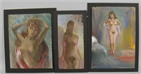 half nude (+ 2 others, various sizes; 3 works) by e.e. cummings
