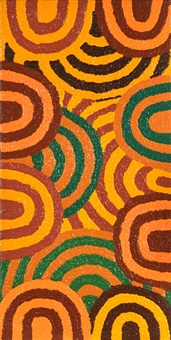 purkitji (sturt creek) by patrick smith tjapaltjarri