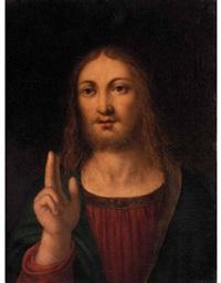 cristo benedicente by bernardino luini