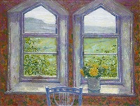 cottage window, yorkshire dales by jack millar