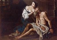 caritas romana by hendrick van somer