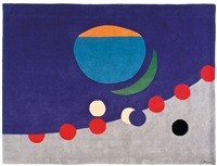 untitled (many moons) by herbert bayer