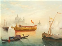 venetian harbor by warren w. sheppard