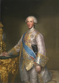 don luis jaime antonio de borbòn y farnesio, infante of spain by anton raphael mengs