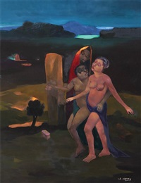 figurative composition by alaattin aksoy