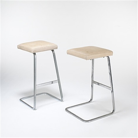 Bar Stools From The Four Seasons Restaurant New York By Ludwig Mies