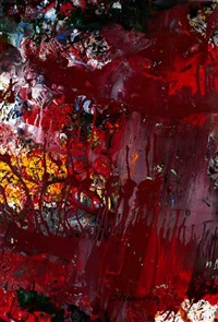 untitled by shozo shimamoto