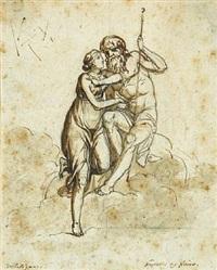 jupiter og juno by nicolaj-abraham abilgaard
