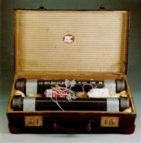 suitcase bomb #28 by gregory green