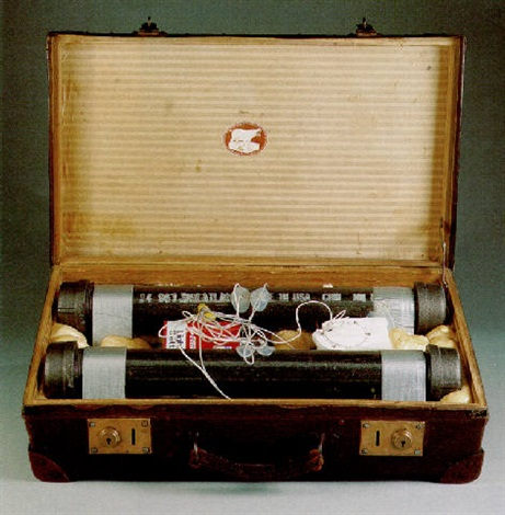 suitcase bomb 28 by gregory green
