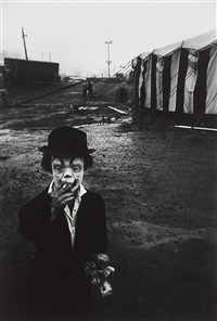 circus dwarf, palisades, new jersey by bruce davidson