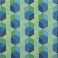 composition géometrique by lily greenham