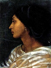 head of a mulato woman. by joanna mary (boyce) wells