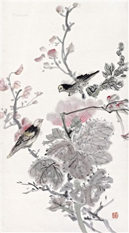 荣华白头 by huang binhong