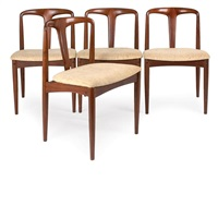 side chairs (set of 4) by uldum mobelfabrik