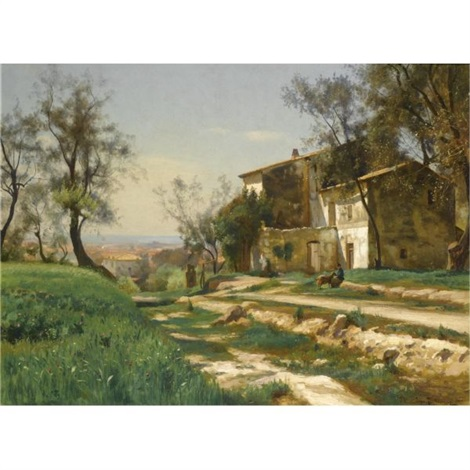 the outskirts of nice by iosif evstafevich krachkovsky