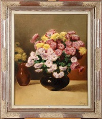 vase de fleurs by victor abeloos