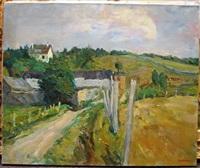 un chemin dans la campagne by georges akopian