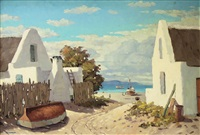 fishermens houses, cape by nils severin andersen