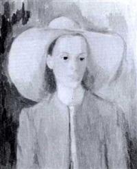 flicka i gul hatt by lennart gram