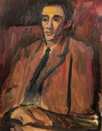 portrait of leslie marr by david bomberg