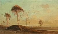 märkisch landscape by karl blechen