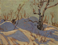 february afternoon, bon echo by alexander young jackson