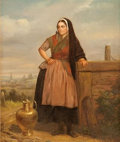 watermaid by hendrick joseph dillens