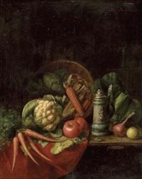 küchenstillleben mit bierkrug by moritz mansfeld