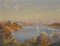 untitled (sydney harbour) by john allcott