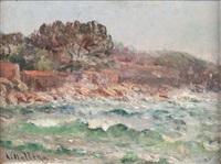 bord de côte by louis nattero
