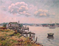 harbor view by bernard i. green