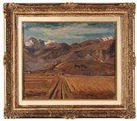 paesaggio by achille funi