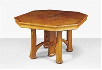 extending dining table by albert carl angst