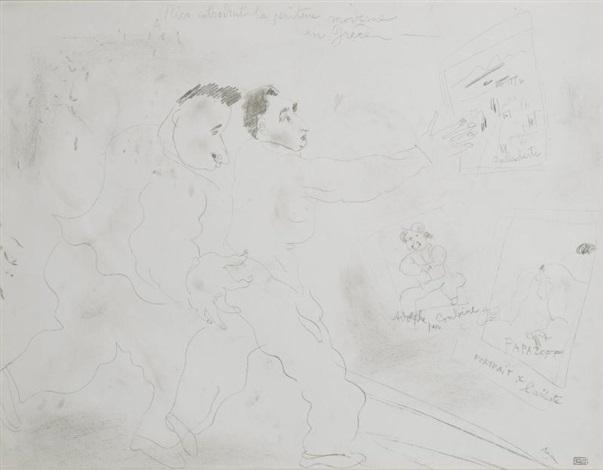 nico introduit la peinture moderne en grèce by jules pascin