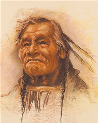 untitled - indian elder by vilem zach