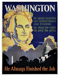 washington by posters: propaganda