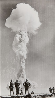 atomic test, nevada proving ground by associated press