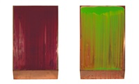 two part colour collection (diptych) by ciaran lennon