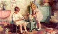 in the nursery by frank s. bensing