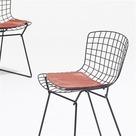 child chairs set of 4 by harry bertoia