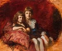 testvérpár portréja by gyula glatter