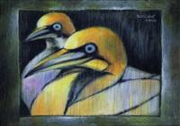 the cranes by liu ch'i-wei