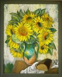 sun flowers by jazeps pigoznis