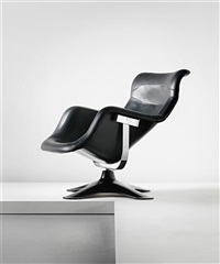 karuselli swivel armchair by yrjö kukkapuro