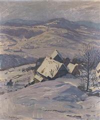 wintersonne by conrad kayser