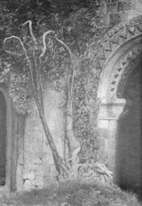 archway to the canterbury cathedral baptistry by robert braithwaite martineau